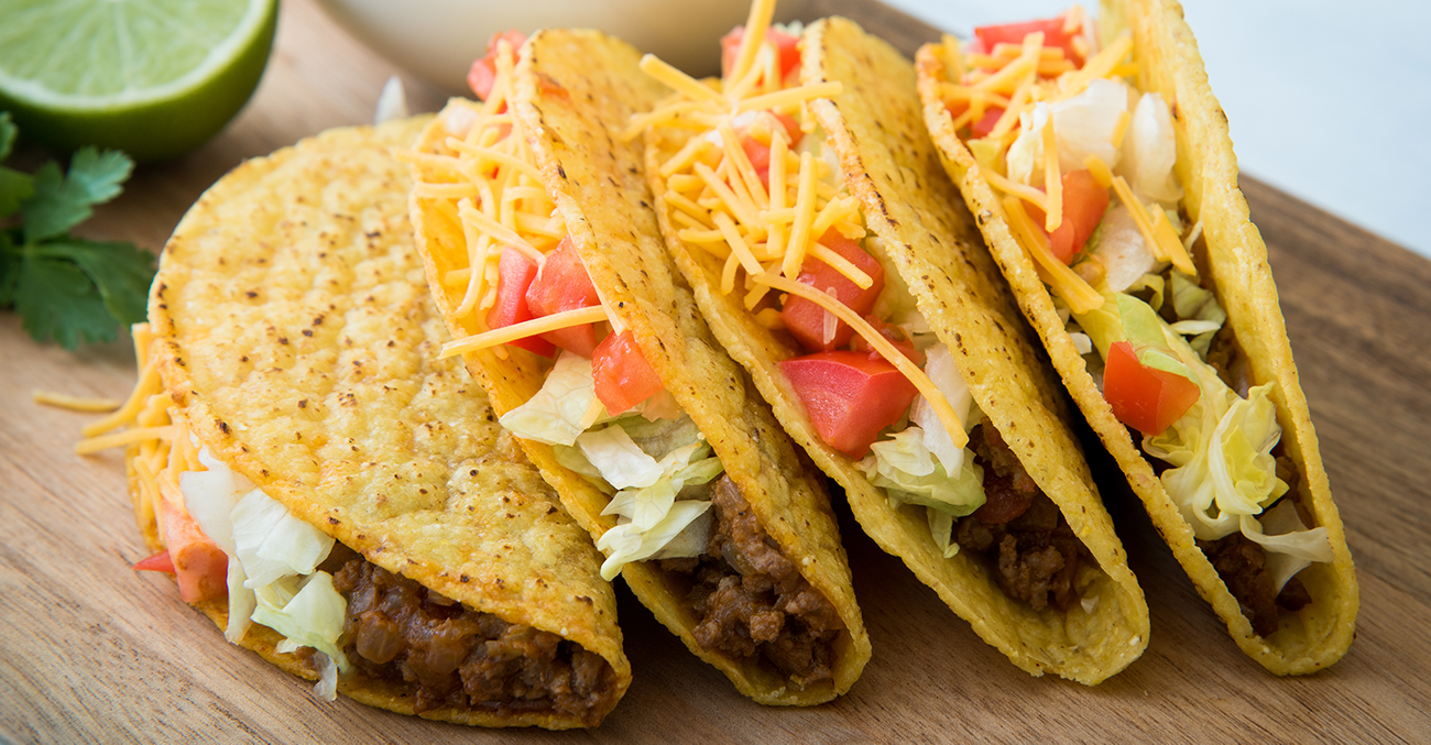American style tacos side dish and serving ideas