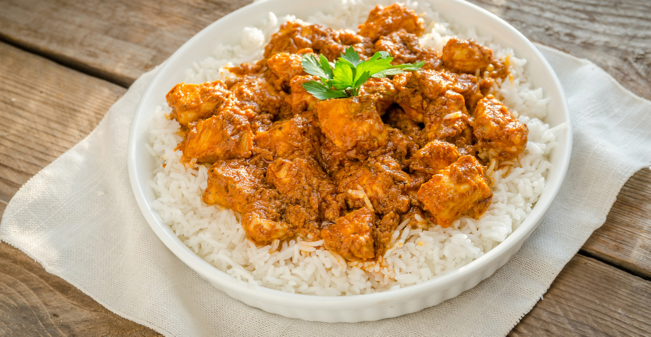 butter chicken side dish and serving ideas
