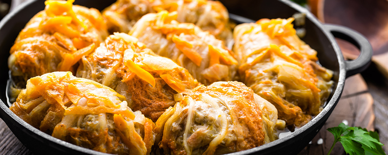 Cabbage rolls side dish and serving ideas