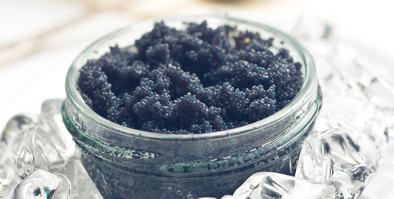caviar side dish and serving ideas