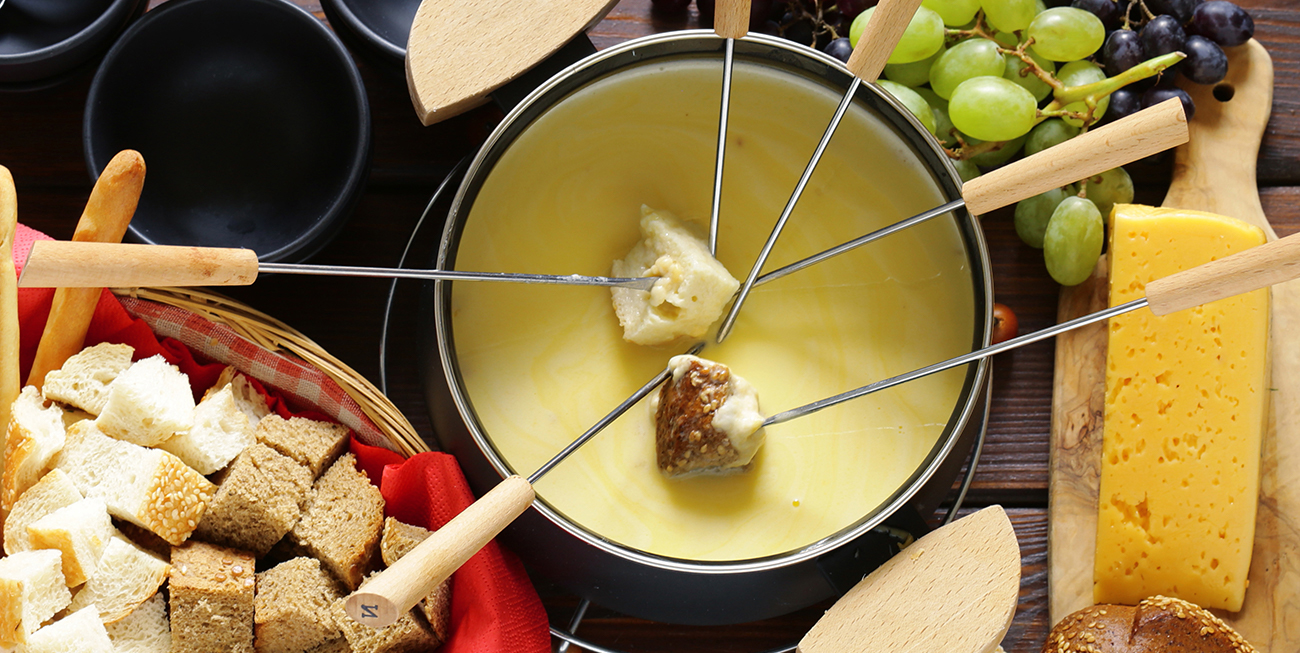 Cheese Fondue side dish and serving ideas