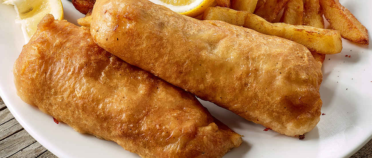 battered fish side dish and serving ideas