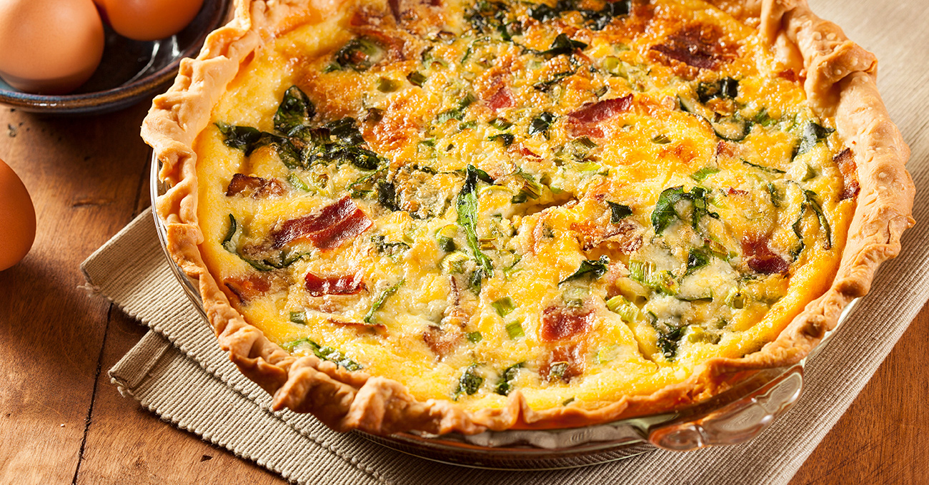 quiche side dish and serving ideas