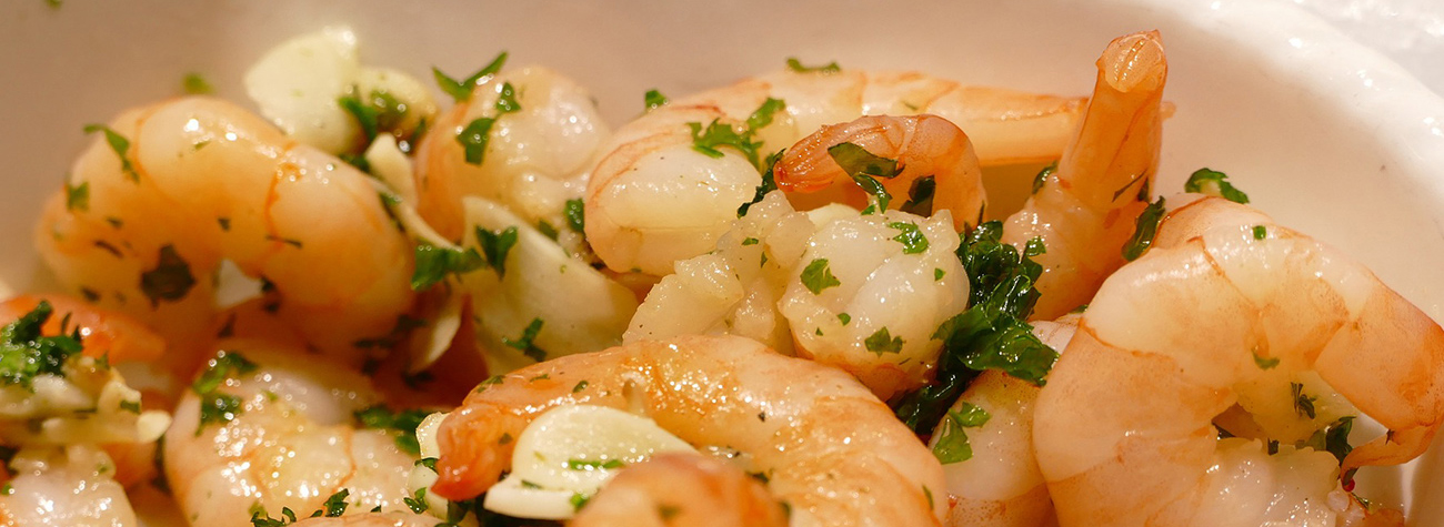 shrimp scampi side dish and serving ideas