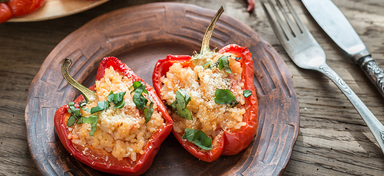 stuffed peppers side dish and serving ideas