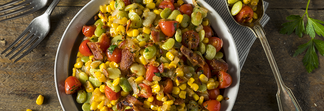 succotash side dish and serving ideas