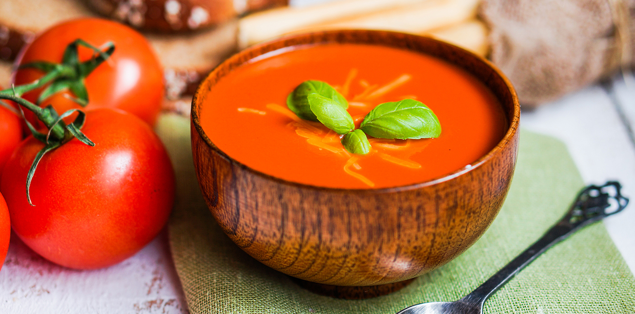 tomato soup side dish and serving ideas