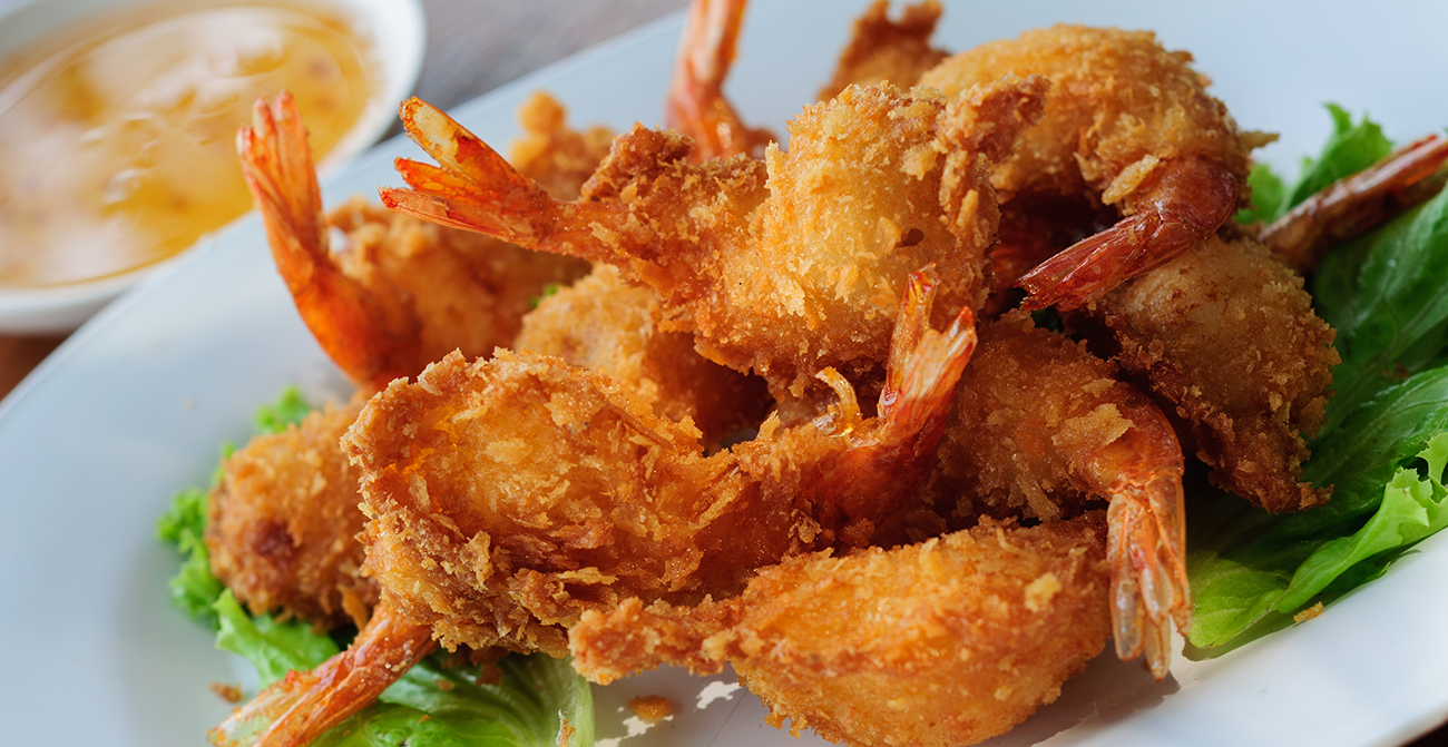 Coconut shrimp side dish and serving ideas
