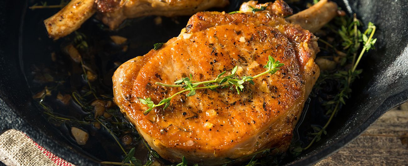 Pork Chops side dish and serving ideas