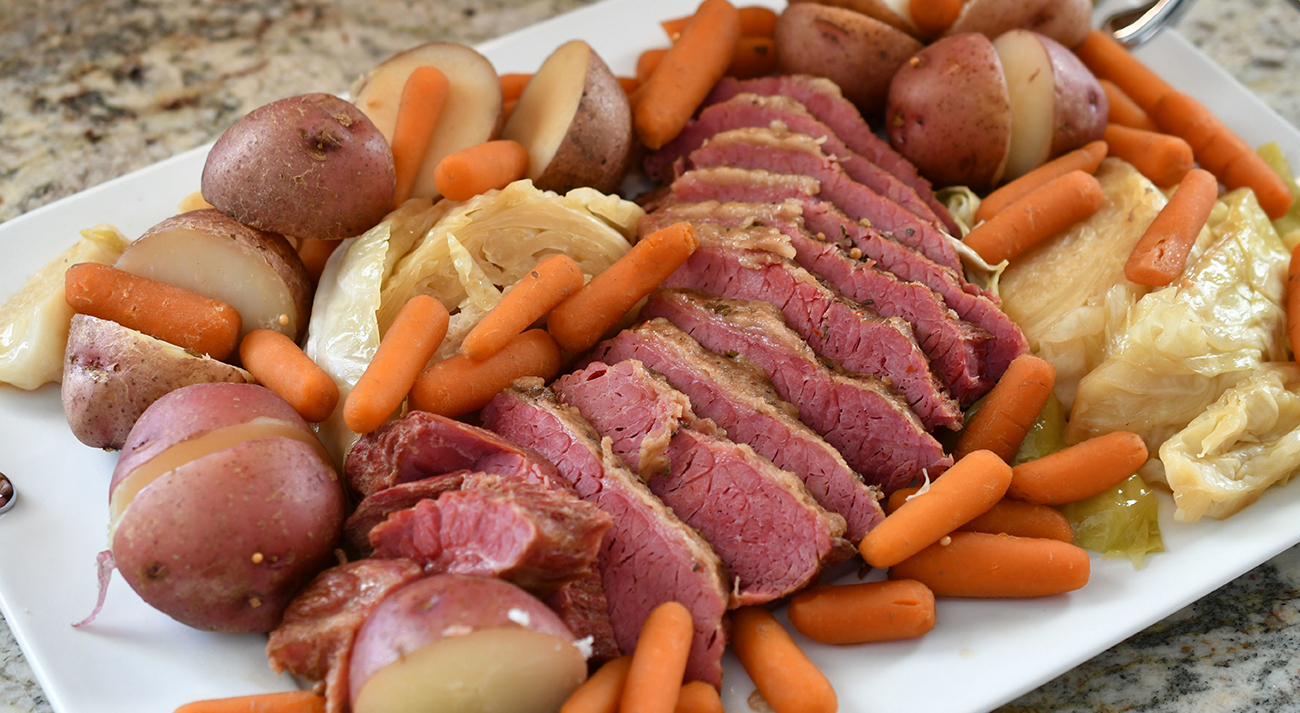 Side dish ideas for corned beef