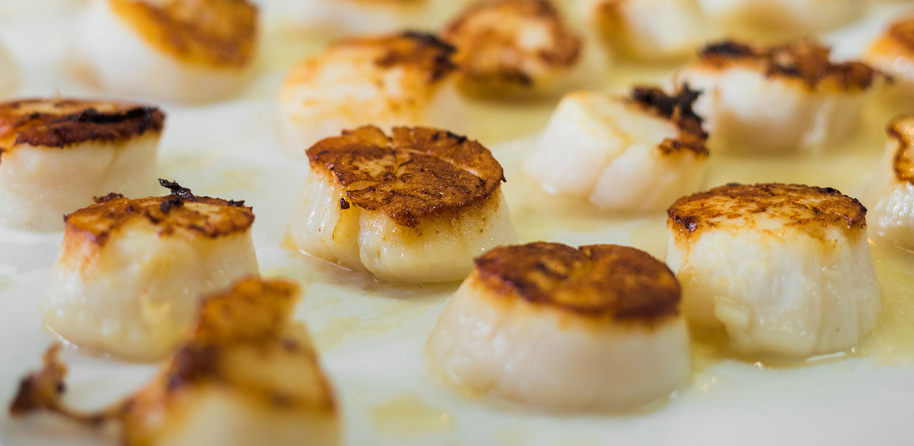 seared scallops side dish and serving ideas