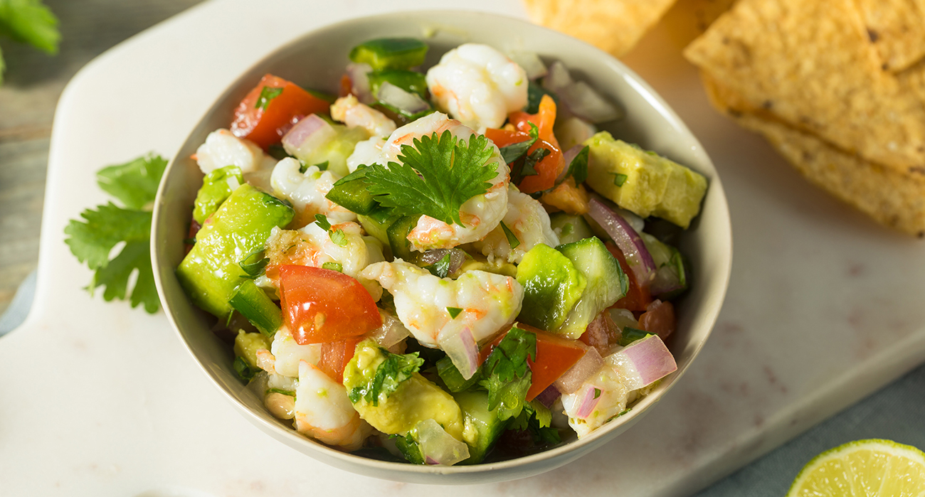 ceviche side dish and serving ideas