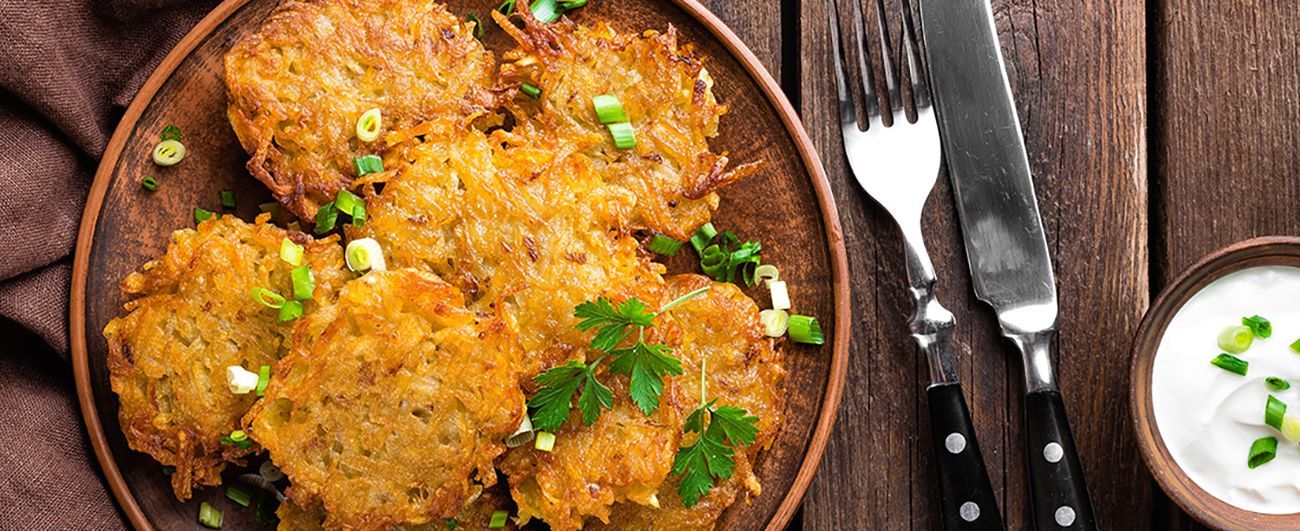 Latkes & Potato Pancakes Side Dish and Serving Ideas