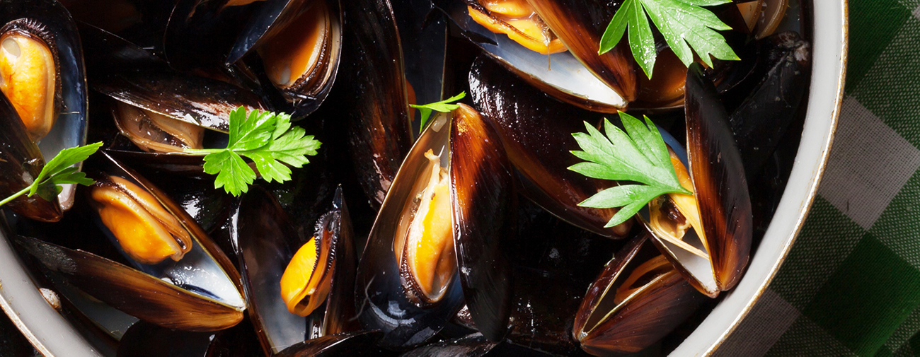 mussels side dish and serving ideas