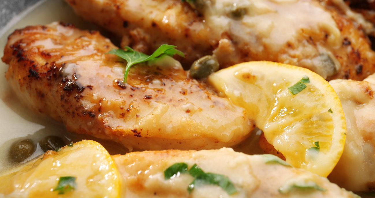 Serving and side dish ideas for chicken piccata